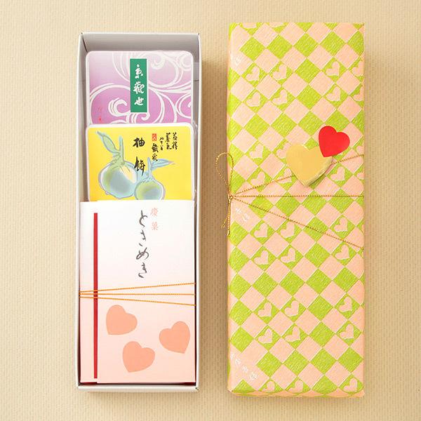ときめき・京観世・柚餅詰合せ