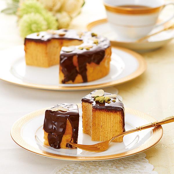 チョコリコットバウム&クッキーセット