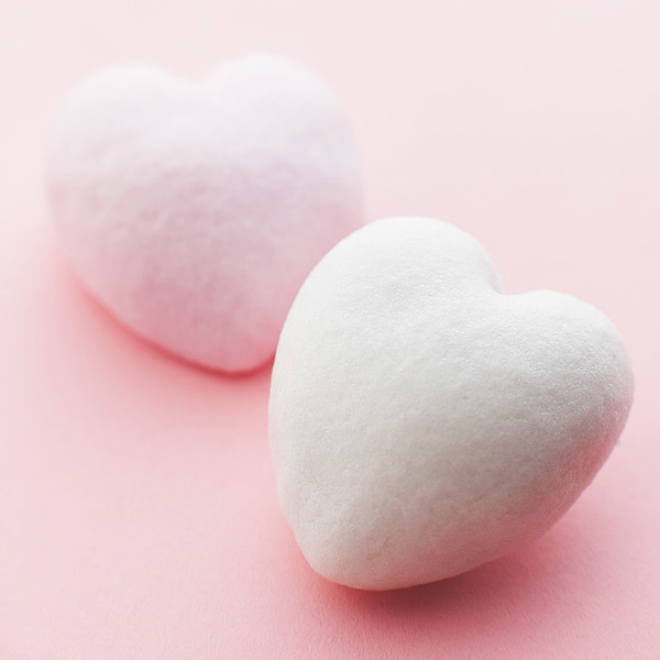 バレンタイン薯蕷4入