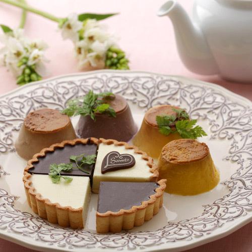 生チョコタルト&生ベジプリンセット