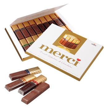 メルシーゴールドチョコレート2箱セット