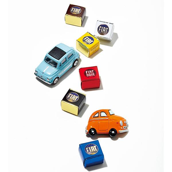 FIATチョコレート・ミニカーセット