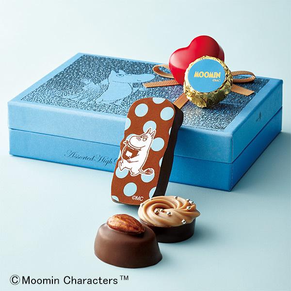 ムーミン×メリー ムーミンクラシック アソートボックスブルー 2箱セット
