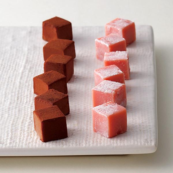 生チョコレートMクリームミルク×ストロベリーレアチーズ 2箱セット