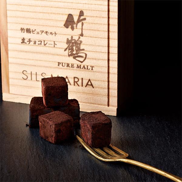 竹鶴ピュアモルト生チョコレート