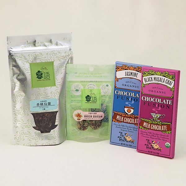 中国茶とチョコレートのギフトセット
