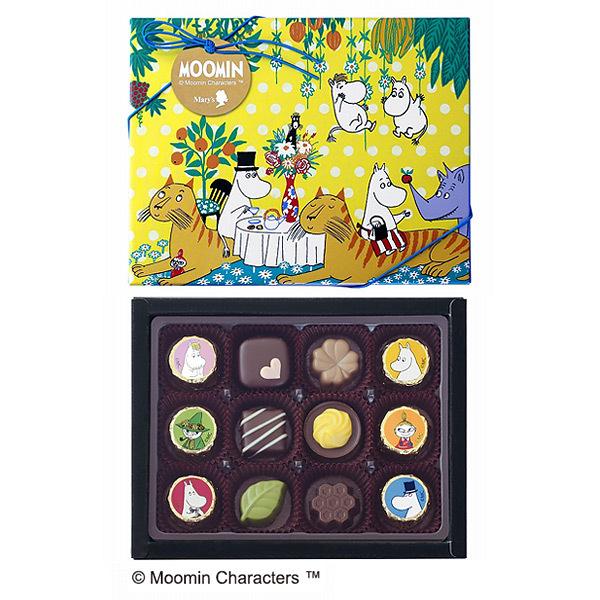 ムーミンコミックス アソーテッドチョコレート~ティータイム~ 2個セット