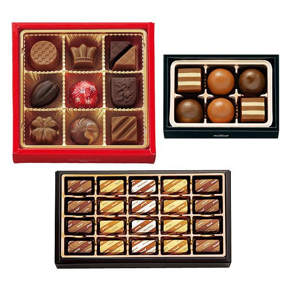 ショコラ3種セット ショコラセッション、メッセ神戸、ラブストーン各1箱