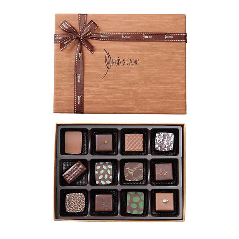 チョコレート詰合せ12個入