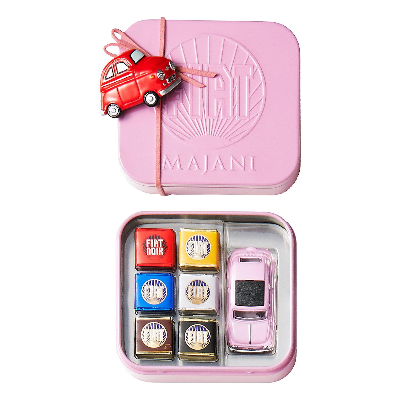 FIATチョコレート・ミニカーセット ベビーピンク缶