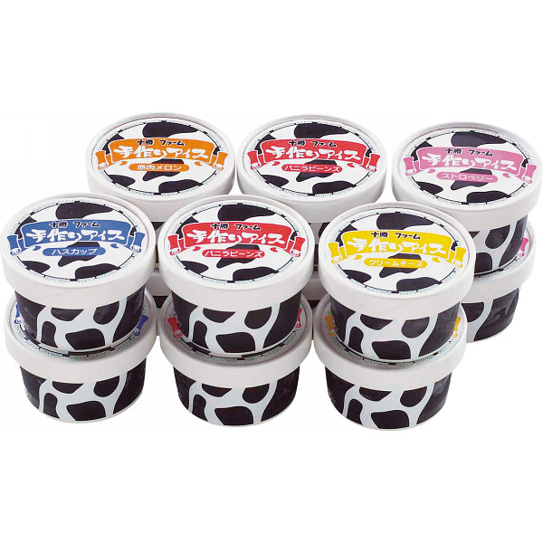 アイスクリーム 12個