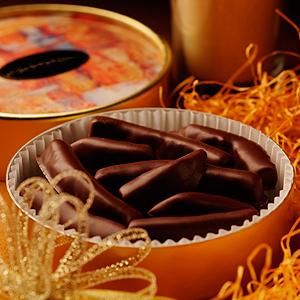 オレンジピールチョコレート