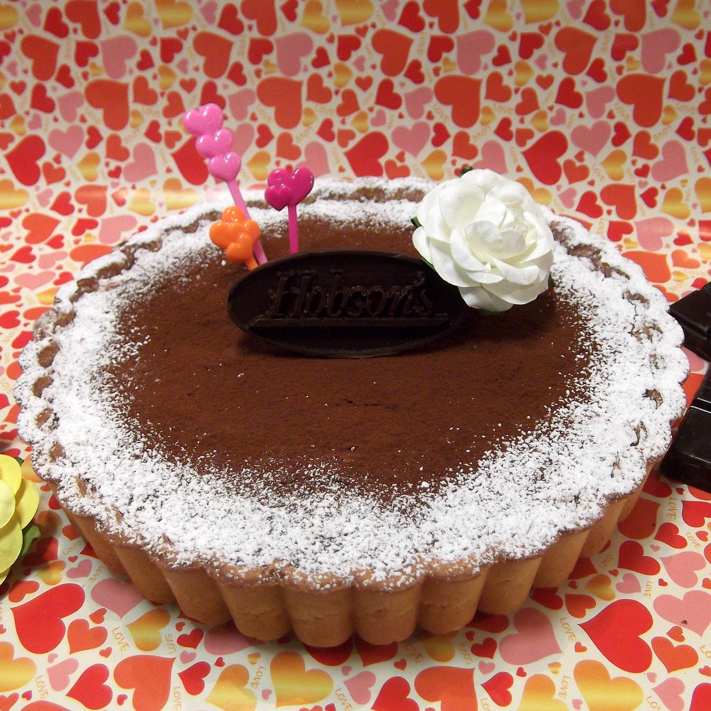 チョコレートアイスクリーム ケーキタルト