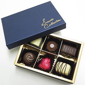 プラリネチョコレート6個