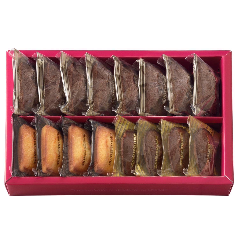 フィナンシェ2種・チョコレートマドレーヌ詰合せ 16個入