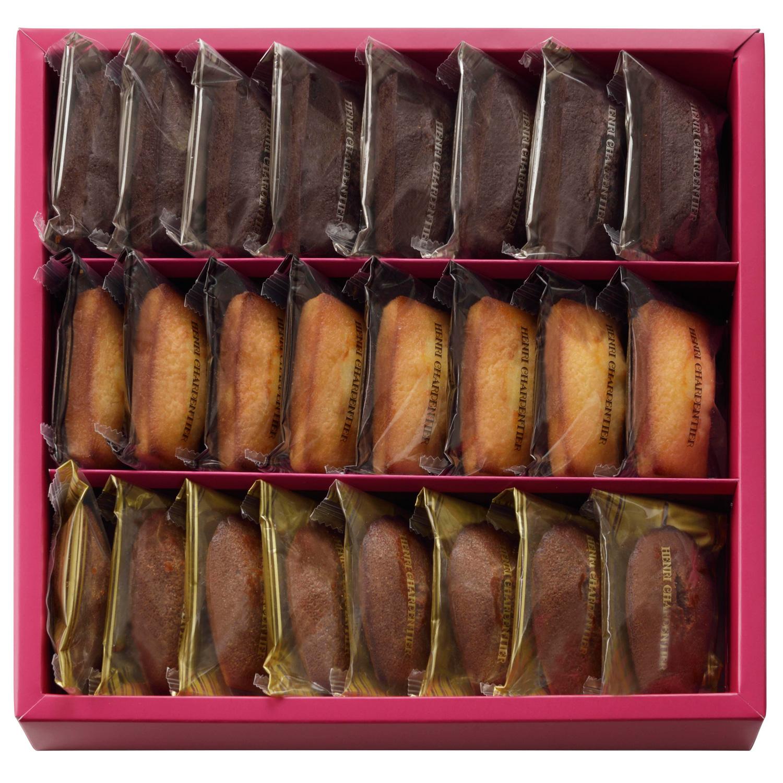 フィナンシェ2種・チョコレートマドレーヌ詰合せ 24個入