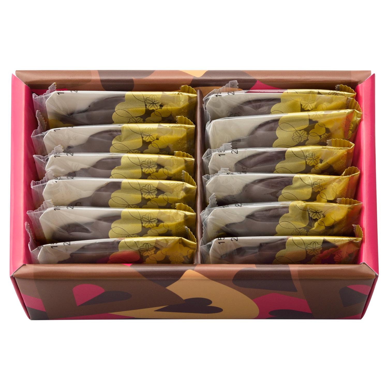 しあわせサブレ〈チョコレート〉 12枚入