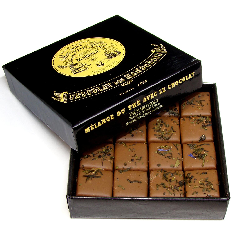 ショコラ デ マンダレン「紅茶のチョコレート」マルコポーロ