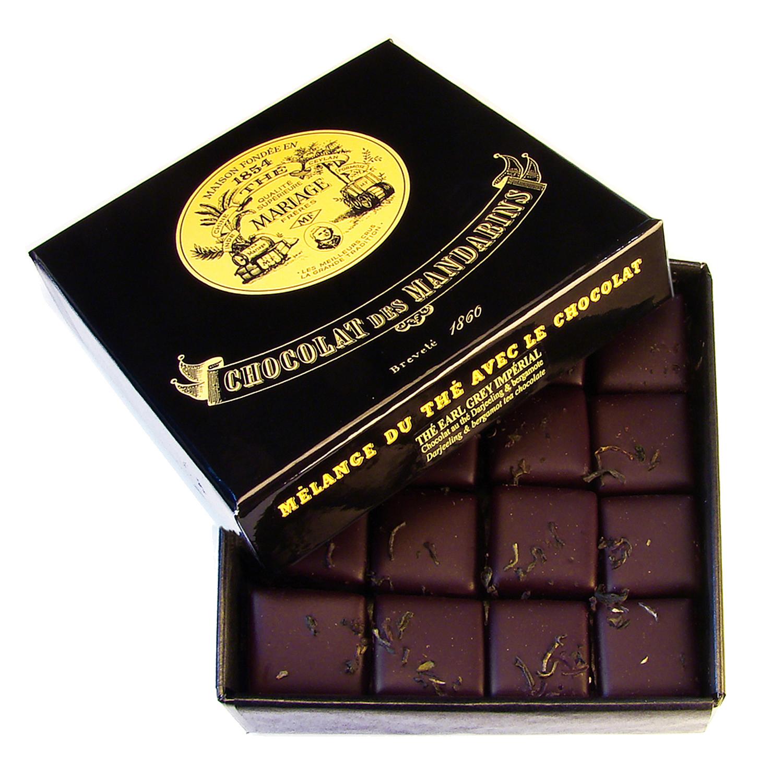 ショコラ デ マンダレン「紅茶のチョコレート」アールグレイインペリアル