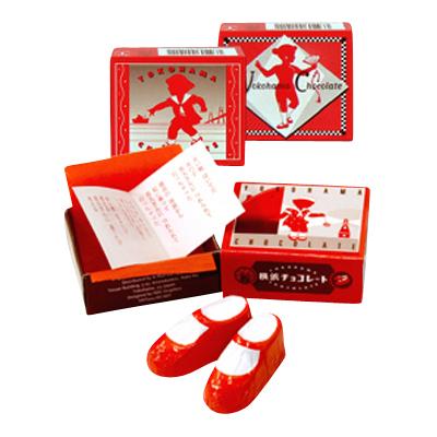 横浜チョコレート赤い靴