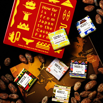 How far is it from Japan to the Cacao Farm?12枚入り