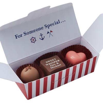 ショコラ・アマンド 10枚入 バレンタインパッケージ