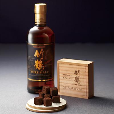 竹鶴ピュアモルト生チョコレート 16粒入