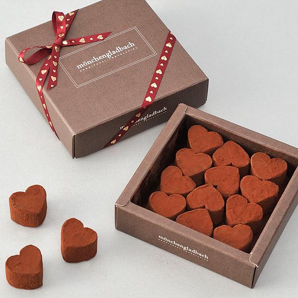 ハートの生チョコレート