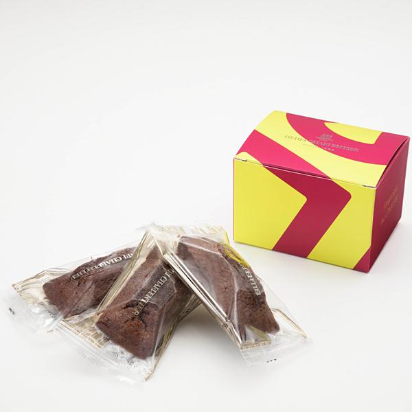 チョコレートフィナンシェ 3個入り