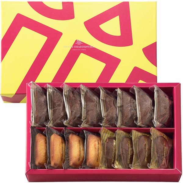 フィナンシェ2種・チョコレートマドレーヌ詰合せ 16個入り