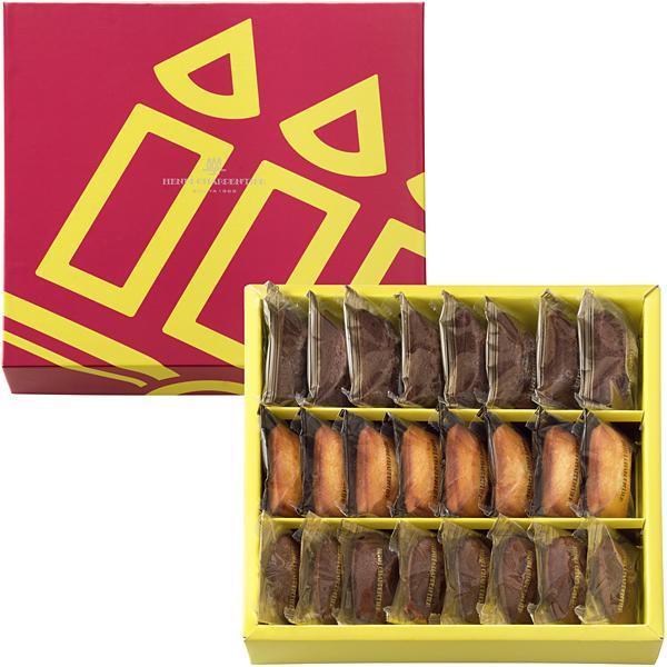 フィナンシェ2種・チョコレートマドレーヌ詰合せ 24個入り