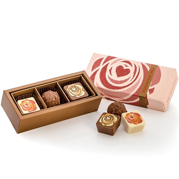 バレンタインアソートチョコレート 3個入り
