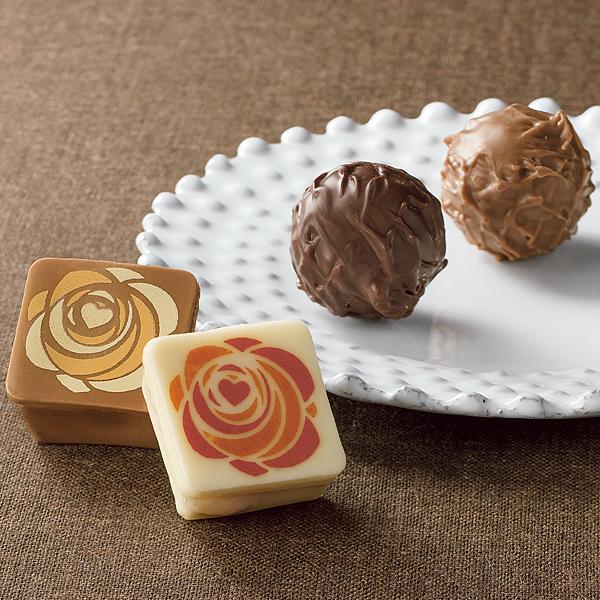 バレンタインアソートチョコレート 4個入り