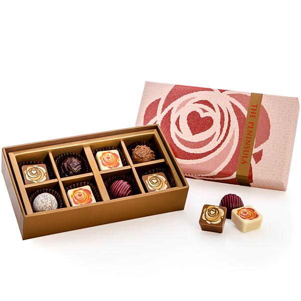 バレンタインアソートチョコレート 8個入り