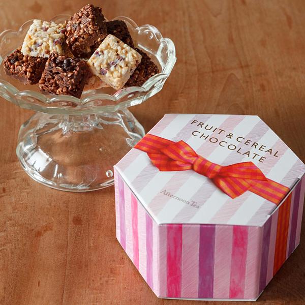 フルーツ&シリアルチョコレート