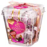 松坂屋 ゴディバ ラッピングチョコレートトリュフストロベリーショートケーキ 5粒入り