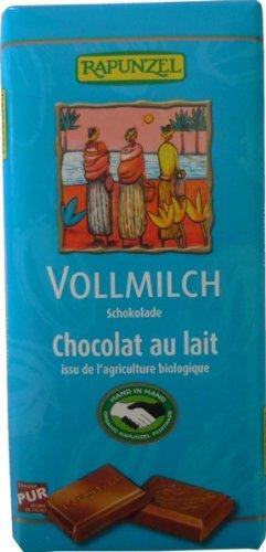 RAPUNZEL ミルクチョコレート ミルク25% 100g