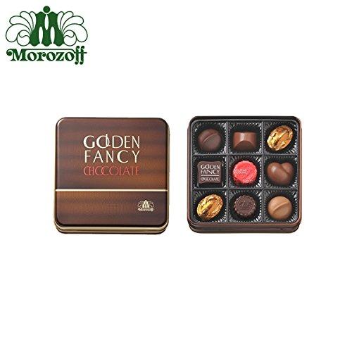 モロゾフ ゴールデンファンシーチョコレート 9個入