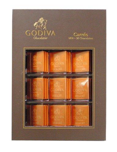 ゴディバ GODIVA カーレ ミルク 36枚 190g