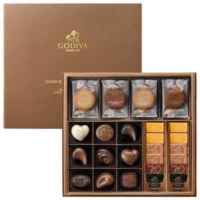 ゴディバ GODIVA クッキー&チョコアソート8枚+21粒