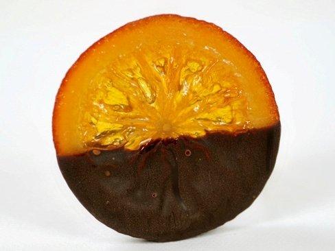 ばら売り オレンジスライス オレンジのコンフィとビターなチョコレート
