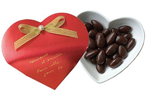Amaria アマリア ハート型パッケージ リュストルレッドアーモンドチョコ10個セット