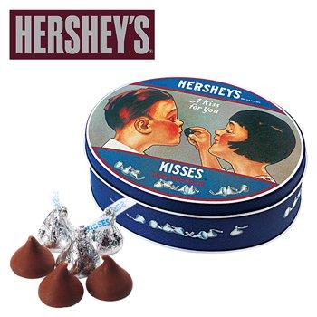 ハーシーズ ノスタルジック キスチョコレート 1缶