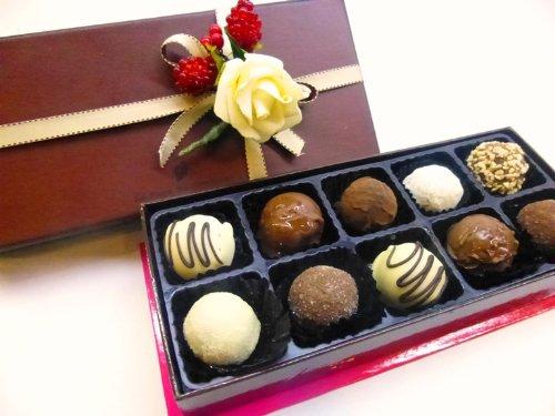 ロリアン洋菓子店 チョコグルメ定番トリュフ10個入