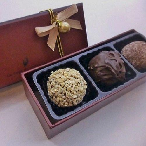 ロリアン洋菓子店 チョコグルメ定番トリュフ3個入