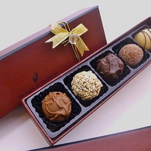ロリアン洋菓子店 チョコグルメ定番トリュフ5個入