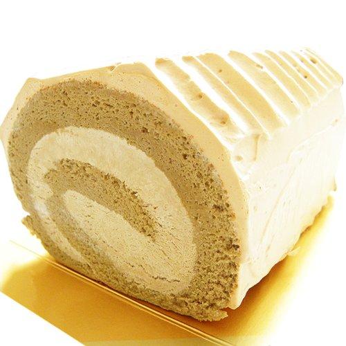コーヒーロールケーキ 北海道珈琲ロール 1本 甘さを控えた大人のスイーツ