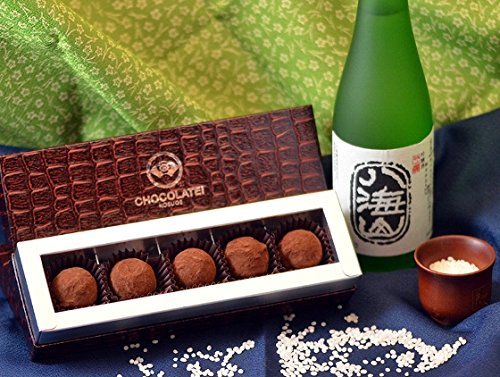 しょこら亭の日本酒チョコ 八海山吟醸トリュフ 5個入