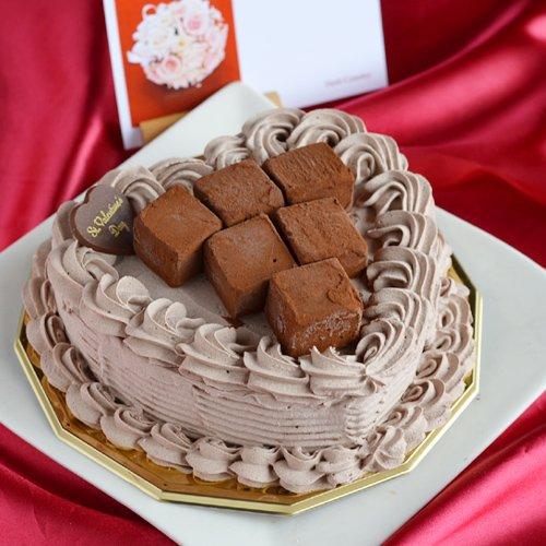 生チョコアイスケーキ ハート