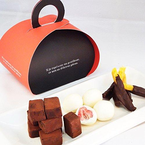 3つのチョコレートギフト
